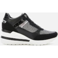 Dune Women's Elouera Wedged Trainers - Black - UK 8