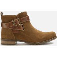 Barbour Women's Jane Suede Ankle Boots - Cognac - UK 4