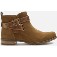 Barbour Women's Jane Suede Ankle Boots - Cognac - UK 3