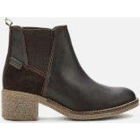 Barbour Women's Keren Leather Heeled Chelsea Boots - Brown - UK 5