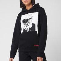 Karl Lagerfeld Women's Legend Hoody - Black - S