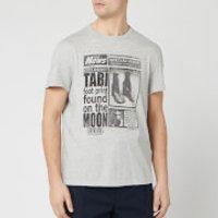 Maison Margiela Men's Tabi T-Shirt - Grey Melange - S