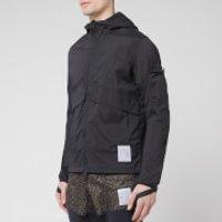 Satisfy Men's Packable Windbreaker Jacket - Black Silk - L