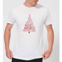 Text Tree Men's T-Shirt - White - M - White
