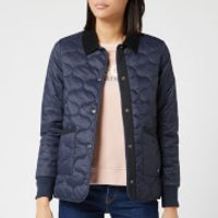 Barbour Womens Modern Country Hallie Quilted Jacket - Navy - UK 12