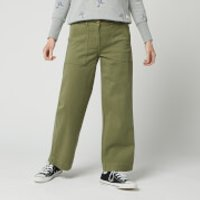 Barbour Women's Modern Country Summer Cabin Trousers - Bay Leaf - UK 12