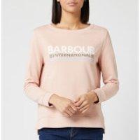 Barbour International Women's Trackrace Overlayer - Honeydrew - UK 8