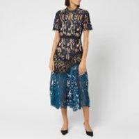 Self-Portrait Women's Prairie Midi Dress - Multi - UK 14