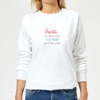 Good this Year Women's Sweatshirt - White - S - White