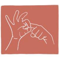Rude Hand Gestures Fleece Blanket - Rude Gifts