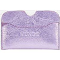 Nunoo Women's Carla Metallic Card Holder - Purple