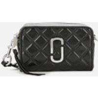 Marc Jacobs Women's The Quilted Softshot 21 Cross Body Bag - Black