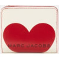 Marc Jacobs Women's Valentines Heart Mini Compact Wallet - Cotton Multi