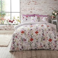 Ted Baker Hedgerow Duvet Cover - Pink - Super King - Pink