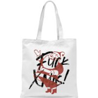 Alternative Xmas Tote Bag - White - Xmas Gifts