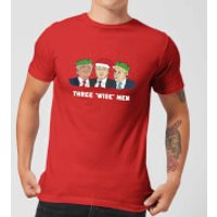 Three 'Wise' Men Men's T-Shirt - Red - L - Red