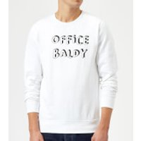 Office Baldy Sweatshirt - White - S - White