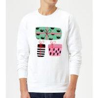 Colourful Presents Sweatshirt - White - XXL - White - Presents Gifts