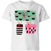 Colourful Presents Kids' T-Shirt - White - 11-12 Years - White - Presents Gifts