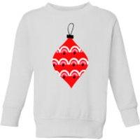 Bauble Kids' Sweatshirt - White - 11-12 Years - White