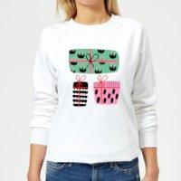 Colourful Presents Women's Sweatshirt - White - 5XL - White - Presents Gifts