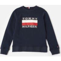 Tommy Hilfiger Boys' Essential Sweatshirt - Black Iris - 10 Years
