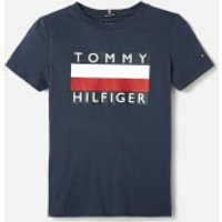 Tommy Hilfiger Boys' Essential T-Shirt - Black Iris - 8 Years