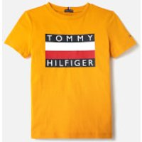 Tommy Hilfiger Boys Essential T-Shirt - Golden Glow - 8 Years