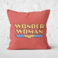 DC Cushions Retro Wonder Woman DC 40x40cm Square Cushion Square Cushion - 60x60cm - Soft Touch - Cushions Gifts