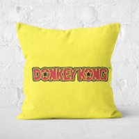 Donkey Kong Square Cushion - 60x60cm - Soft Touch - Donkey Gifts