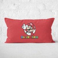 Super Mario Rectangular Cushion - 30x50cm - Soft Touch - Mario Gifts