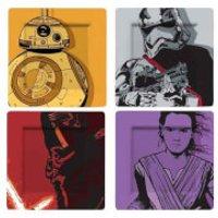 Funko Homeware Star Wars: Plate Set: Kylo, BB-8, Stormtrooper & Phasma (Comic) - Homeware Gifts