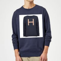 Harry Potter Initial True Knit Sweater Sweatshirt - Navy - 5XL - Navy - Sweater Gifts