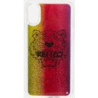 KENZO Women's iPhone X Tiger Liquid Phone Case - Multi