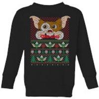 Gremlins Ugly Knit Kids' Christmas Sweatshirt - Black - 7-8 Years - Black