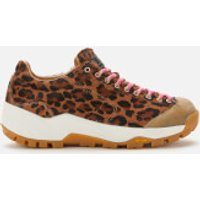 Diemme Women's Movida Haircalf Running Style Trainers - Leopard - UK 8