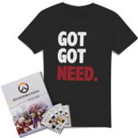 Overwatch: Ultimate Sticker Collector Bundle - Women's - XL - Black