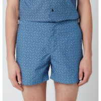 Orlebar Brown Men's Setter Nerano Swim Shorts - Sea Breeze/Navy - W34/L