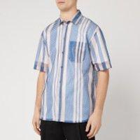 OAMC Men's Institute Shirt - Charcoal Blue - M