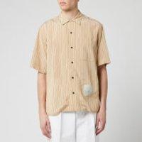 OAMC Men's Kurt Stripe Shirt - Beige - S