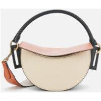 Yuzefi Women's Dip Shoulder Bag - Cream/Tan