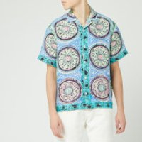 JW Anderson Men's Mystic Paisley Short Sleeve Shirt - Venetian - 46/M