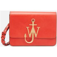 JW Anderson Women's Anchor Logo Bag with Braided Strap - Candy Apple