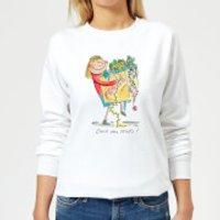 Rosie Brooks Deck The Halls Women's Sweatshirt - White - XL - White