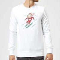 Rosie Brooks Swiss Skier Sweatshirt - White - S - White