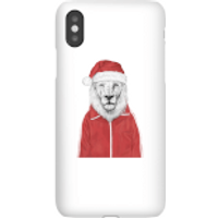 Santa Lion Phone Case for iPhone and Android - Samsung S6 Edge Plus - Snap Case - Matte
