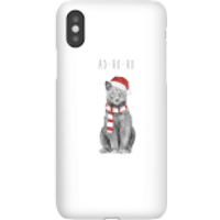 Ho Ho Ho Christmas Cat Phone Case for iPhone and Android - Samsung S6 Edge Plus - Snap Case - Matte