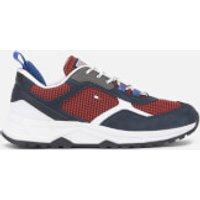 Tommy Hilfiger Men's Fashion Mix Chunky Running Style Trainers - Desert Sky - UK 10