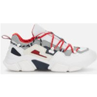 Tommy Hilfiger Men's City Voyager Chunky Trainers - White - UK 10.5