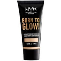NYX Professional Makeup Born to Glow Naturally Radiant Foundation 30ml (Various Shades) - Fair